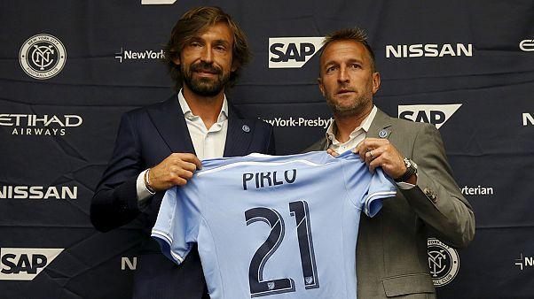 El New York City FC presenta a Andrea Pirlo
