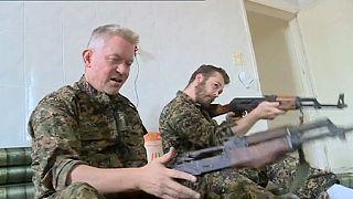 "Trio ocidental ao lado dos curdos na luta contra os ""jihadistas"""