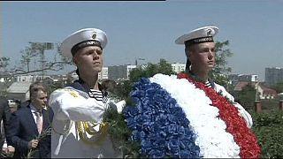Fransız vekiller Kırım yarımadasında