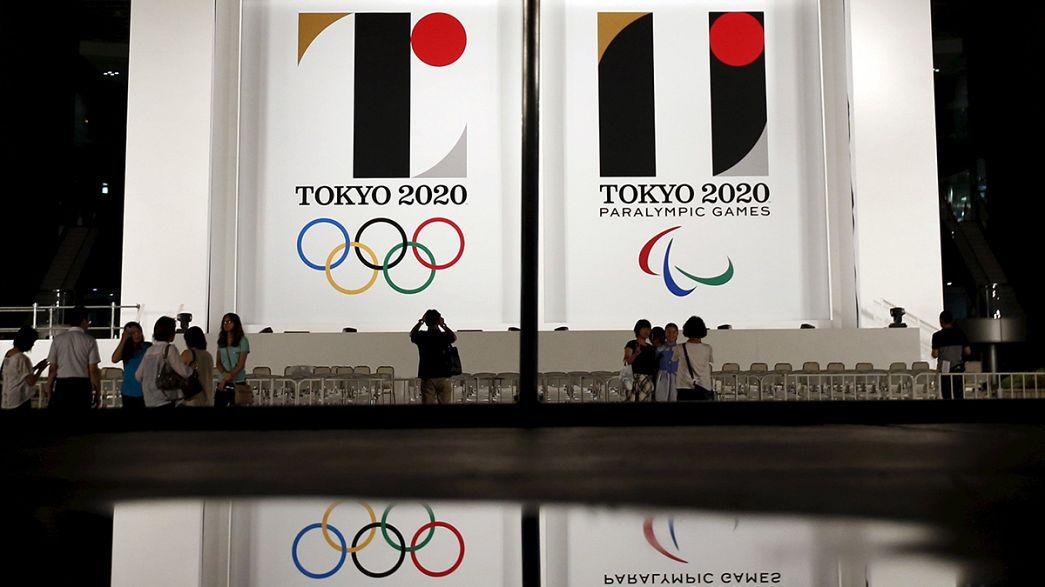 Es ist ein T: Logo für Olympische Spiele in Japan vorgestellt