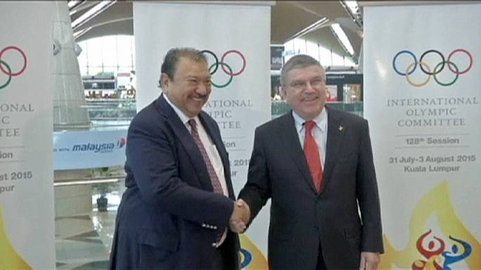 Bach arrives in Kuala Lumpur for IOC session