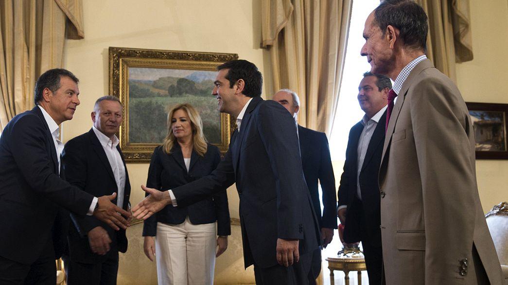 Auf Stimmenfang: Tsipras wirbt um Unterstützung der griechischen Opposition