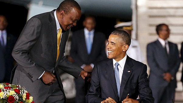Obama llega a Nairobi envuelto en grandes medidas de seguridad