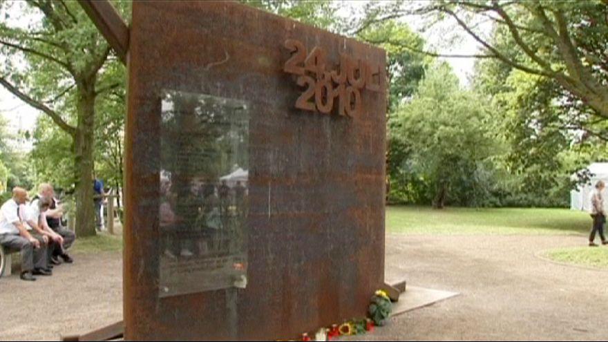 Cérémonie en souvenir des 21 morts de la Love Parade de Duisburg