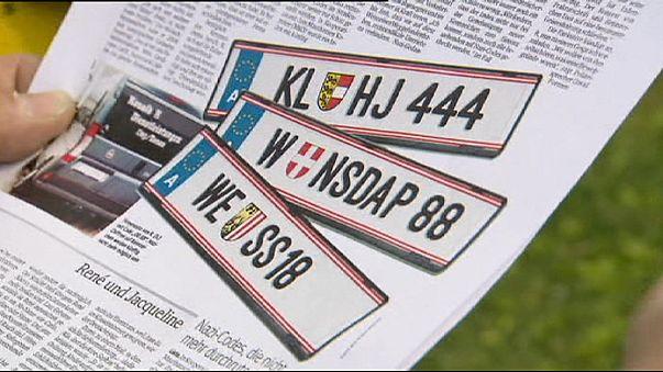 Austria bans 'Nazi coded' car number plates