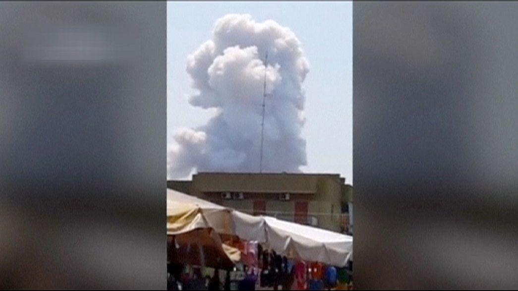 Siete muertos tras una explosión en una fábrica pirotécnica en Italia