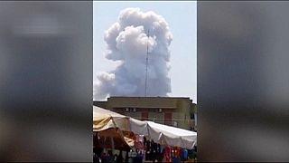 انفجار در کارخانه تولید اسباب آتش بازی در ایتالیا ۷ قربانی گرفت