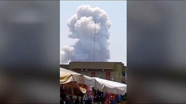 Mindestens sieben Tote bei Explosion in italienischer Feuerwerksfabrik