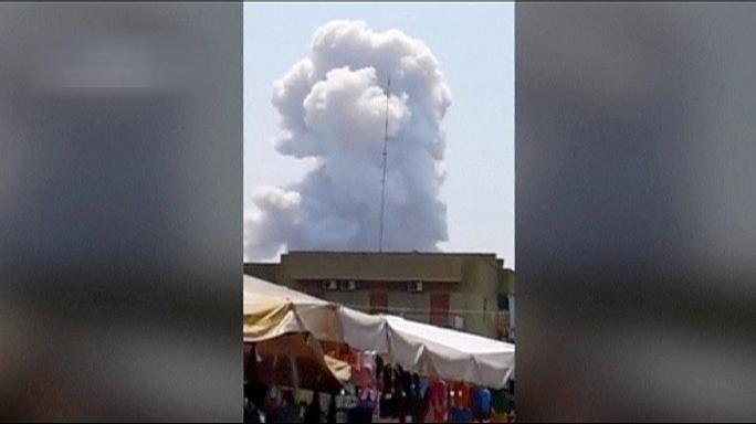 Италия: взрыв на пиротехническом заводе, погибли люди