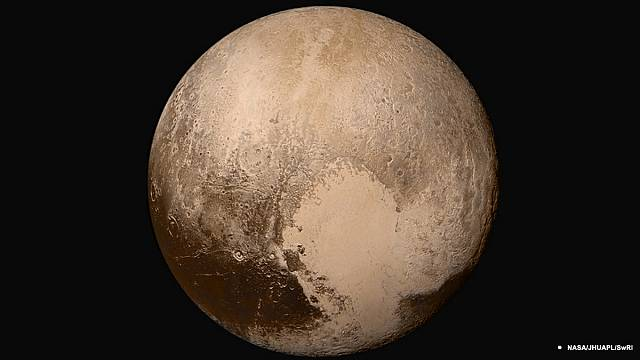 Nasa releases stunning new images of Pluto
