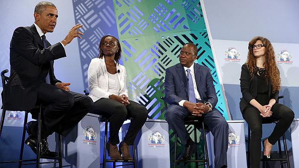 Obama Kenya'da genç girişimcilere seslendi