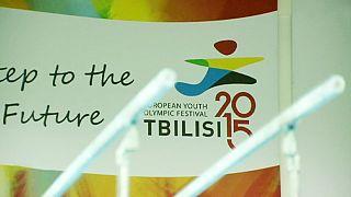 Start des olympischen europäischen Jugendfestivals in Tiflis