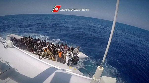Nuevo rescate masivo de inmigrantes en el Mediterráneo