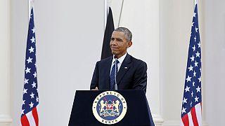 أوباما يناقش مع نظيره الكيني قضايا القارة الافريقية