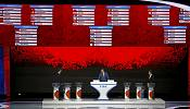 Business as usual as Blatter joins Putin for World Cup draw