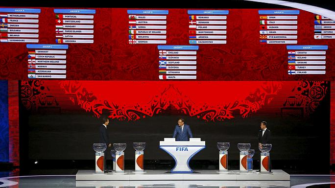В Санкт-Петербурге прошла жеребьевка квалификации чемпионата мира-2018