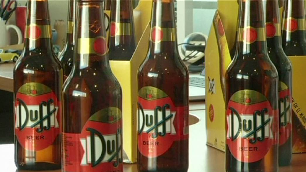 'Duff' beer of Simpsons fame on sale - in Chile