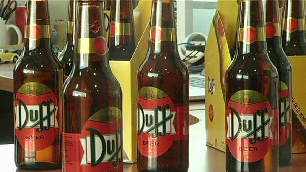 تولید آبجو با مارک کارتون خانوادهٔ سیمپسون در شیلی