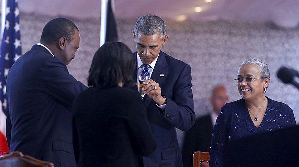 Κένυα: Θερμό μήνυμα φιλίας και συνεργασίας από τον Μπαράκ Ομπάμα