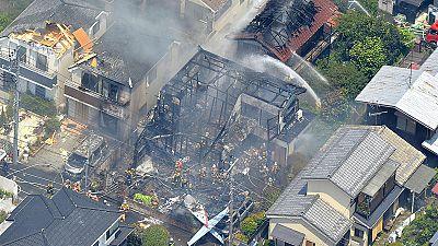 Tres muertos y cinco heridos en un accidente de avioneta cerca de Tokio