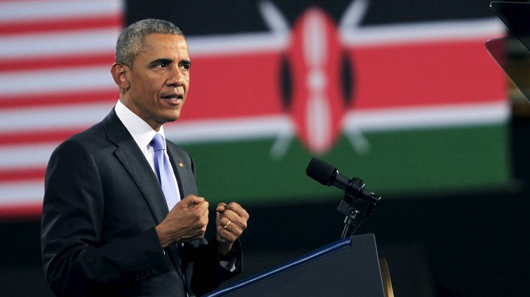 Usa: Obama, ultima giornata in Kenya