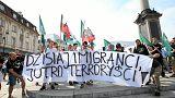 Dos manifestaciones en Polonia pro y contra la acogida de refugiados