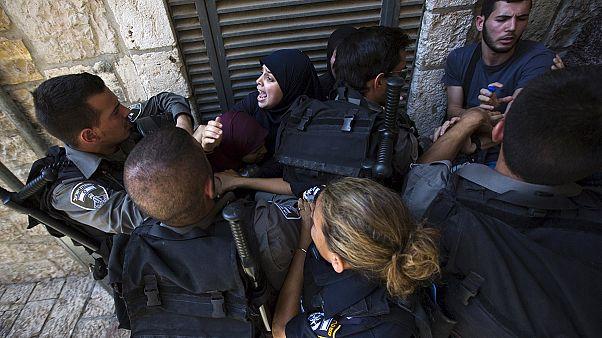 Confrontos na mesquita al-Aqsa