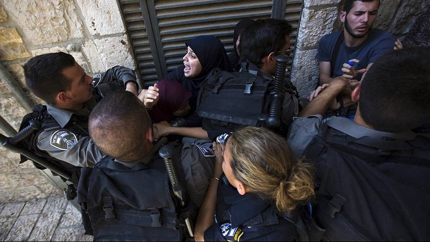 Clashes erupt at al-Aqsa mosque in East Jerusalem