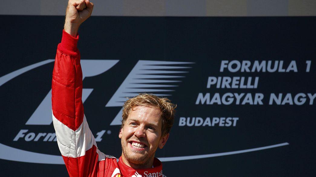 Sebastian Vettel gana el GP de Hungría y Alonso termina quinto