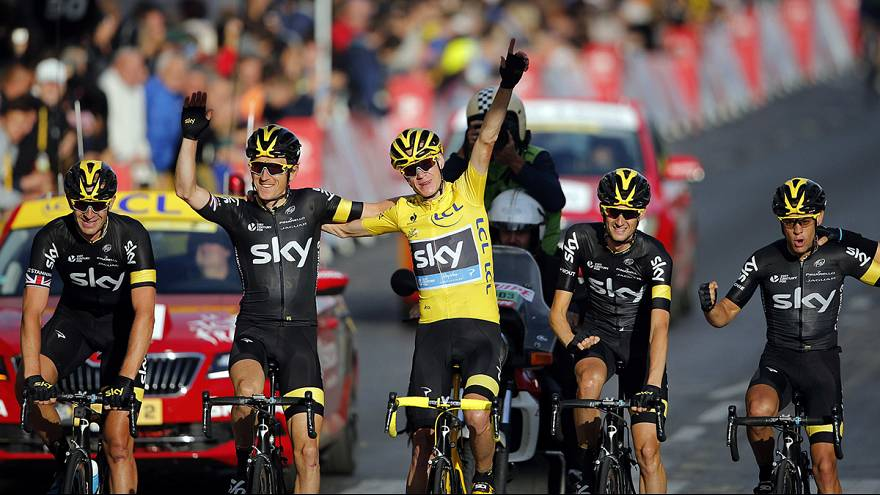 Tour de France: passerella per Chris Froome