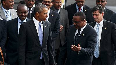 Barack Obama est arrivé en Ethiopie