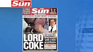 الكوكايين وبنات الليل يدفعان نائب رئيس مجلس اللوردات البريطاني الى الاستقالة