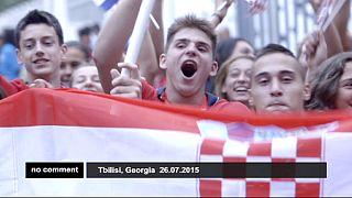 Geórgia: Tbilissi abriga Festival Olímpico da Juventude Europeia