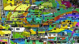 """Sokak sanatçılarından """"kentsel dönüşüm"""" projesi"""
