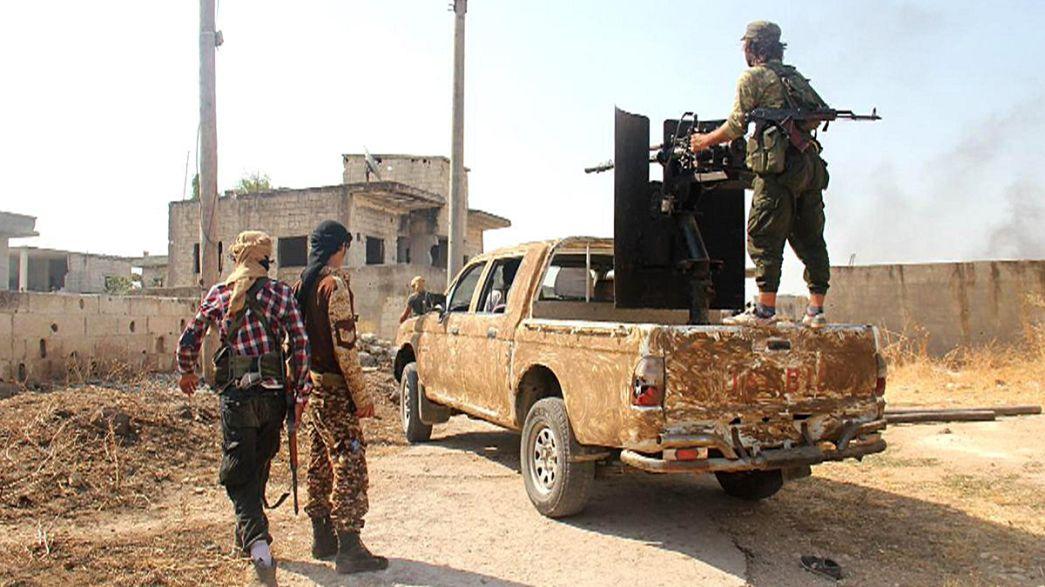 IŞİD karşısında ilerleyen YPG güçleri Sarrin kasabasını ele geçirdi