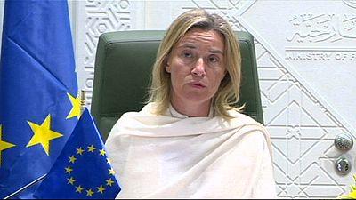 Mogherini recuerda en Riad que restablecerá las sanciones si Irán no respeta el acuerdo nuclear