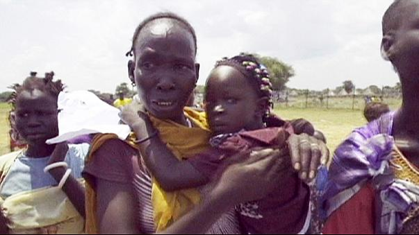 أطفال من ضحايا النزاع جنوب السودان يعودون لأحضان عائلاتهم