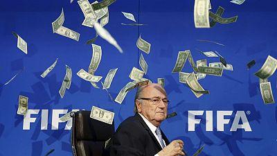 Putin: Sepp Blatter deserves a Nobel prize