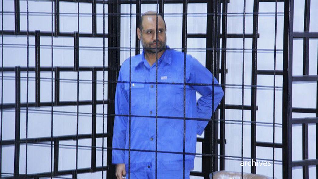 El hijo de Gadafi condenado a muerte