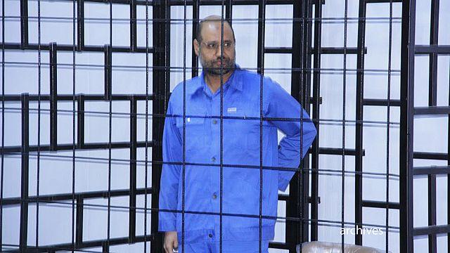 Halálra ítélték Kadhafi fiát