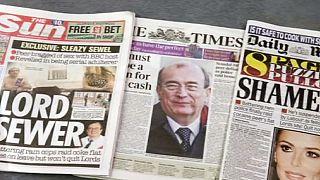 Lord britânico apresenta demissão após escândalo com prostitutas e cocaína