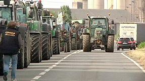 Frankreich: Erneut Proteste von Landwirten nahe der deutschen Grenze