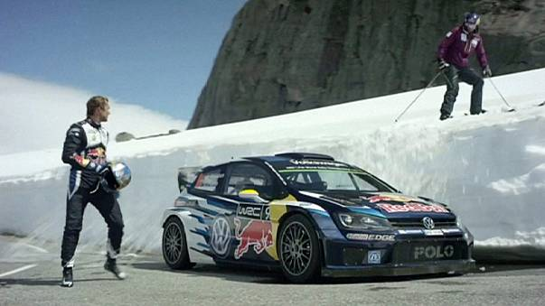 Svindal and Mikkelsen race in the fjords