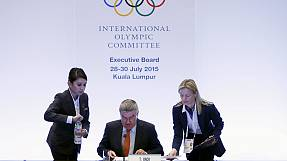 Boston Olympic bid withdrawal top priority at IOC Session