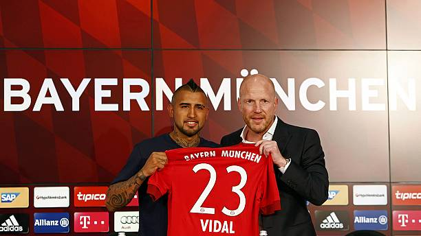 Arturo Vidal no Bayern de Munique