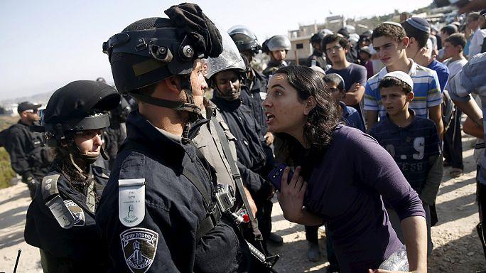 Израиль: столкновения еврейских поселенцев и полиции