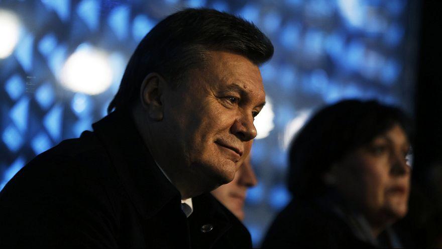 Ukrajna megindította a bűnügyi eljárást a volt elnök, Janukovics ellen