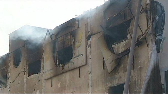 Huszonöten meghaltak egy bútorgyárban kiütött tűzben Egyiptomban