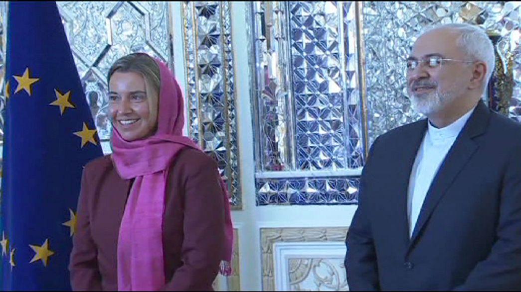 Mogherini visita Teherán para impulsar la aplicación del acuerdo atómico