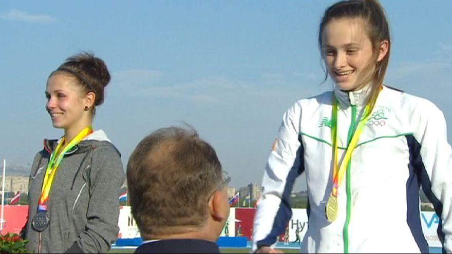 روسيا وايطاليا تتصدران ترتيب الذهب في اليوم الثاني من المهرجان الأولمبي الأوروبي للشباب